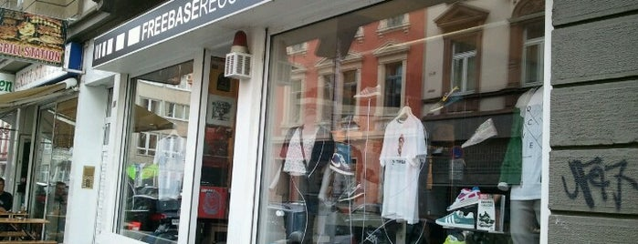 Freebase Records & Sneakers is one of Frankfurt.