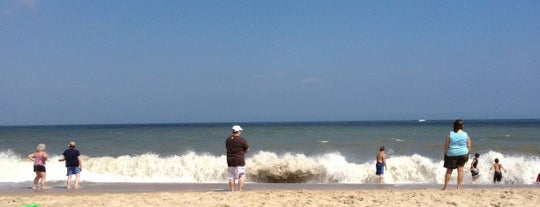 Cape Henlopen Beach is one of Delaware Fun.