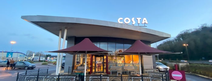 Costa Coffee is one of Daddy's in England.