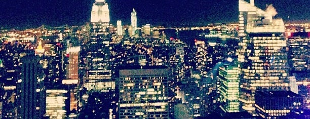 Top of the Rock Observation Deck is one of NYC Spots for Out of Towners.