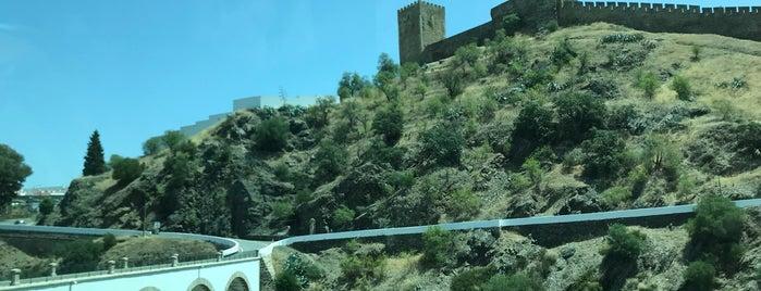 Castelo de Mértola is one of สถานที่ที่บันทึกไว้ของ Fabio.
