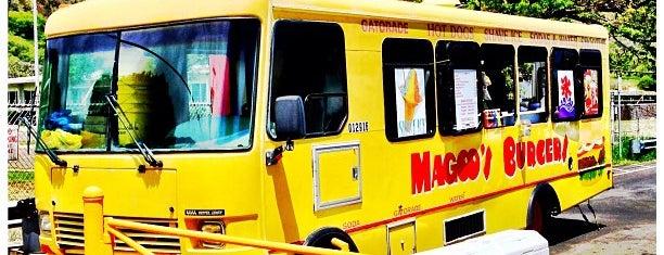 Magoo's Burgers & Shave Ice is one of Hawaii.