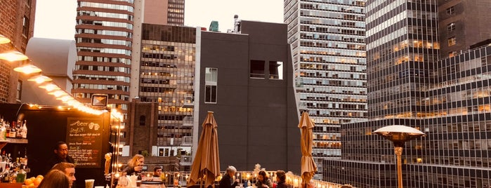 Henry's Roof Top Bar - @RSHotel is one of USA NYC MAN Midtown East.