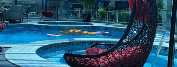 Casablanca Grand Hotel is one of Orte, die Gigi gefallen.