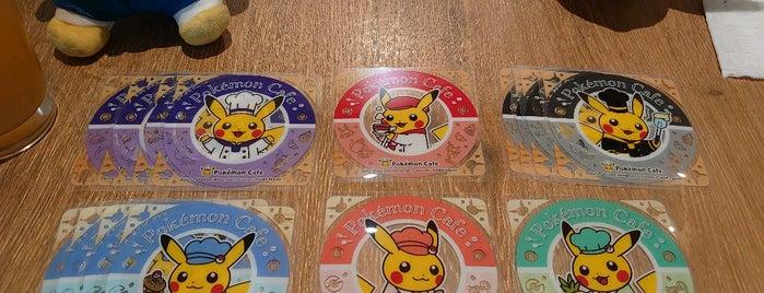 Pokémon Cafe is one of Tokyo.