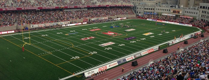 Stade Percival-Molson Memorial Stadium is one of sports arenas and stadiums.
