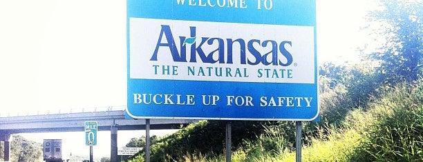 Oklahoma / Arkansas State Line is one of 🇬🇧Alphonso'nun Beğendiği Mekanlar.