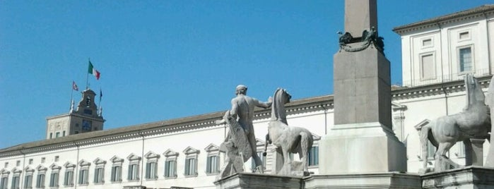 Piazza del Quirinale is one of Locais curtidos por Carl.