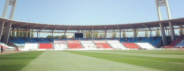 Estadio De Los Juegos Mediterráneos is one of 2013-14 La Liga Stadium.