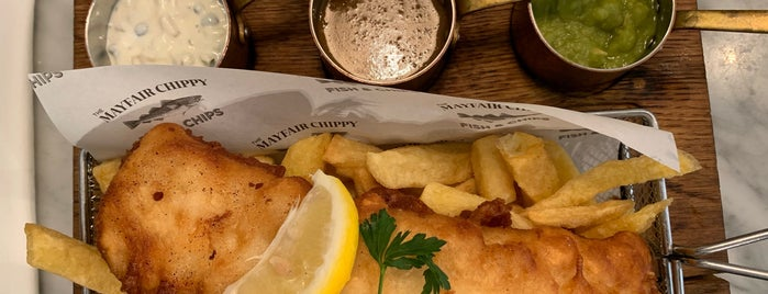 The Mayfair Chippy is one of London.