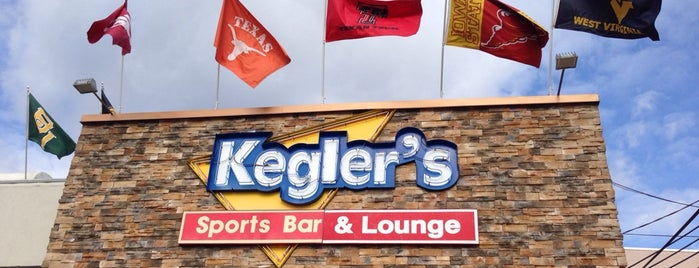 Kegler's Sports Bar & Lounge is one of Trip west.