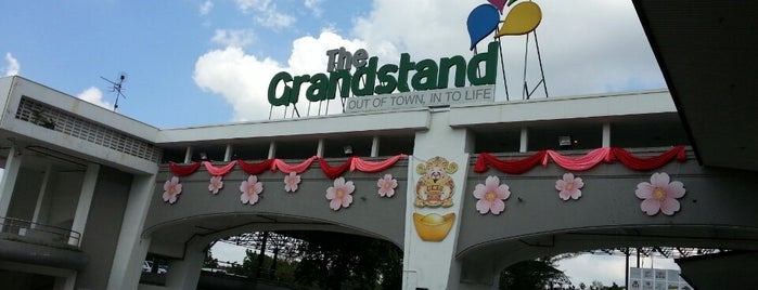 The Grandstand is one of Sg.