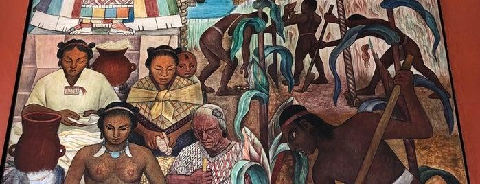 Murales de Diego Rivera en la Secretaría de Educación Pública is one of México DF.