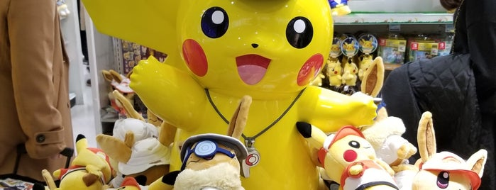 Pokémon Store is one of Tokyo.