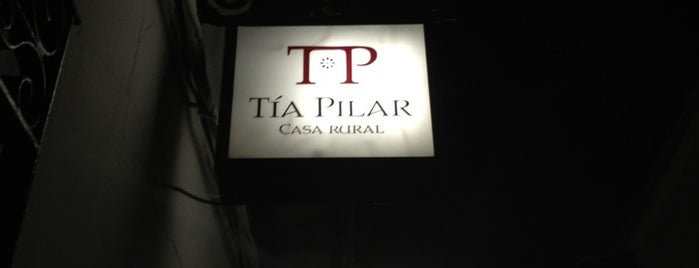 Casa Rural Tia Pilar is one of สถานที่ที่ Miguel ถูกใจ.
