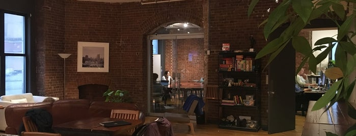 Codecademy HQ is one of Silicon Alley.