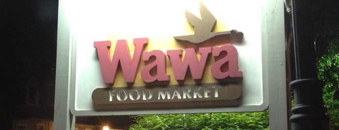 Wawa is one of Lieux qui ont plu à Emily.