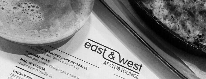 East & West is one of สถานที่ที่ Sekou ถูกใจ.