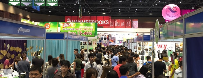 Book Expo Thailand 2015 is one of Tempat yang Disukai Tangmo.