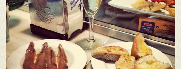 El Xampanyet is one of Barcelona.