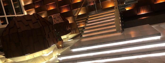 JW Marriott Executive Lounge is one of Lugares favoritos de Ladybug.