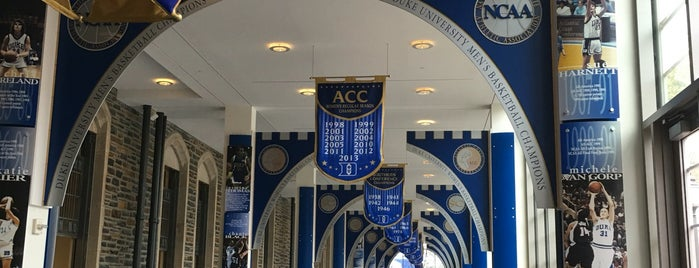 Duke Basketball Museum & Duke Athletics Hall of Fame is one of Orte, die Olcay gefallen.