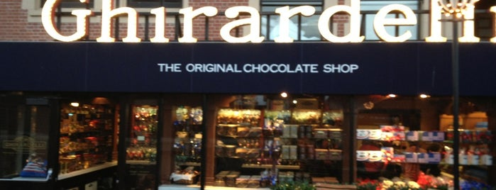 Ghirardelli Chocolate Marketplace is one of Califórnia.