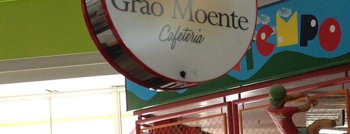 Grão Moente Cafeteria is one of Locais curtidos por Kelzinha.