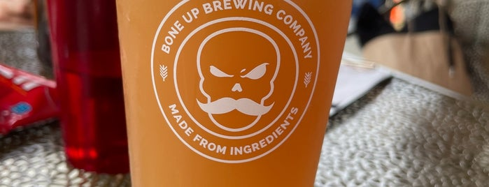 Bone Up Brewing Company is one of New England Breweries.