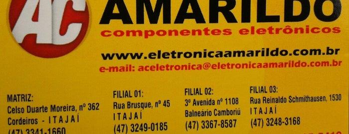 Eletrônica Amarildo is one of Jota'nın Beğendiği Mekanlar.