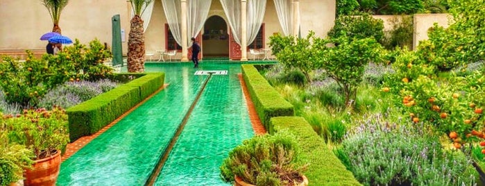 Le Jardin Secret is one of MARRAKECH SITES.