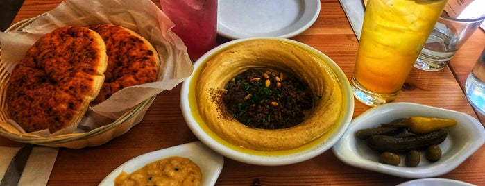Aviv Hummus Bar is one of Seattle Places to Try.