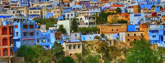 Chefchaouen's View Point is one of Lugares guardados de Queen.