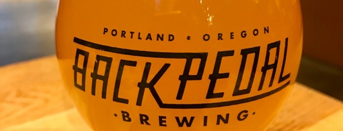 Back Pedal Brewing is one of Work.