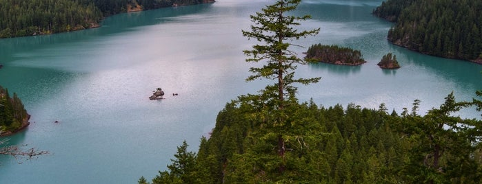 Diablo Lake is one of Trails, parks, and lakes!.