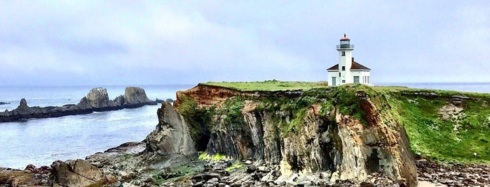 Cape Arago Lighthouse is one of PCH.