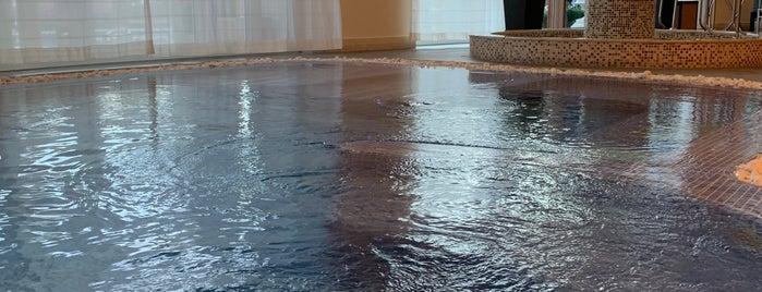 Spa at Four Seasons Hotel Doha is one of Orte, die Safia gefallen.