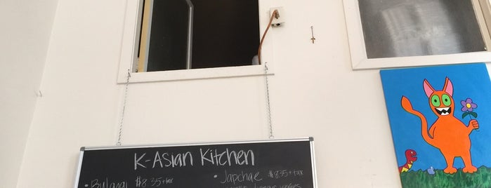 K-Asian Kitchen is one of Lugares favoritos de Rocio.