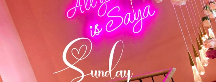Saya Caffe is one of Places to visit in Dubai.