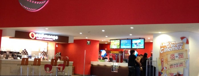 Cinemex is one of Tempat yang Disukai Chilango25.