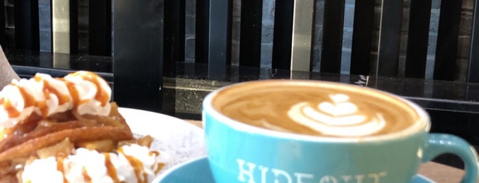 Hideout is one of Coffee.