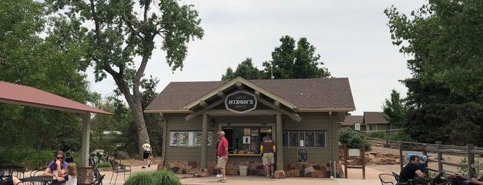 nixons coffee house at Hudson Gardens is one of Tempat yang Disukai Tim.