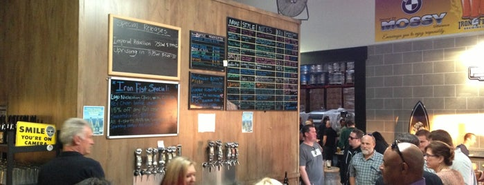 Iron Fist Brewing is one of Cupcakes and Beer.