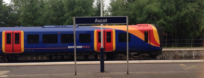 Ascot Railway Station (ACT) is one of UK.