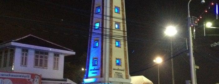 หอนาฬิกาจังหวัดนนทบุรี is one of สถานที่ที่ nong@Ik ถูกใจ.