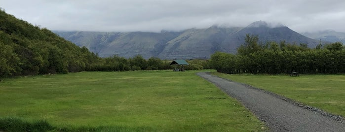 Vatnajökull National Park is one of Iceland.