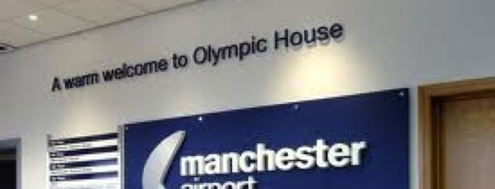 Manchester Airport (MAN) is one of Tempat yang Disukai Ricardo.