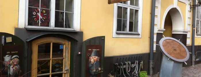 Taverna dzintara ceļā. is one of Riga.