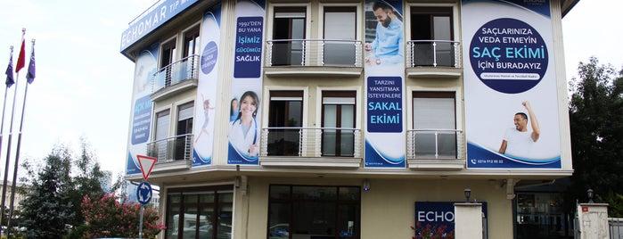 Echomar Tıp Merkezi is one of Sakis'in Beğendiği Mekanlar.