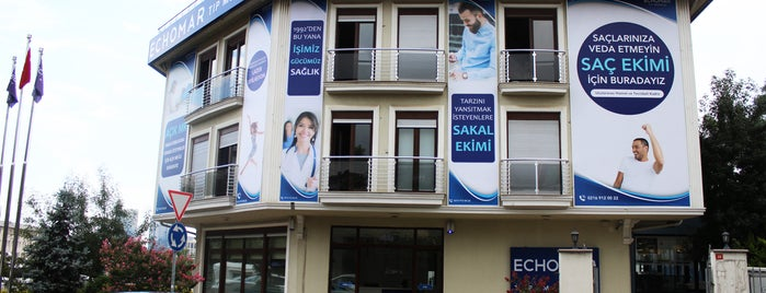 Echomar Tıp Merkezi is one of Lugares favoritos de Sakis.